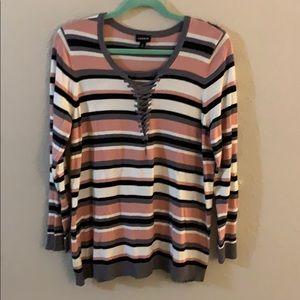 Torrid Striped Sweater